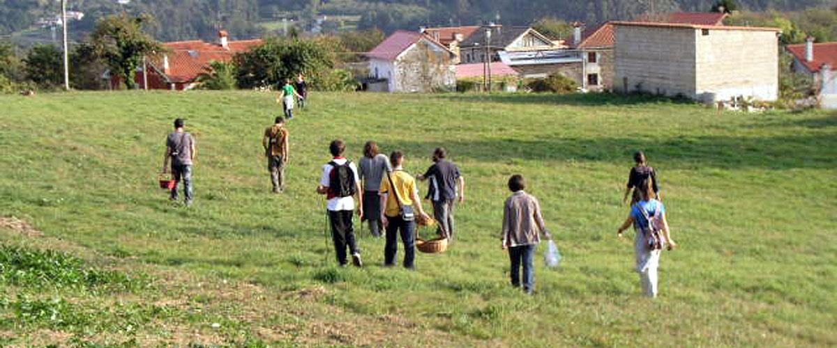 Cursos e obradoiros de ocio ecolóxico e vida san