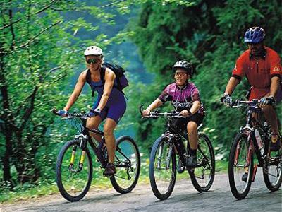 Sendeiros para andar en bici